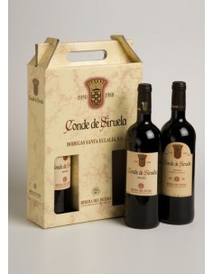 Caja de 3 Botellas Conde de Siruela