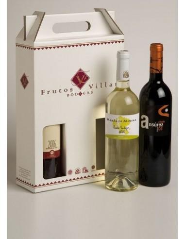 Caja de 3 Botellas Frutos Villar