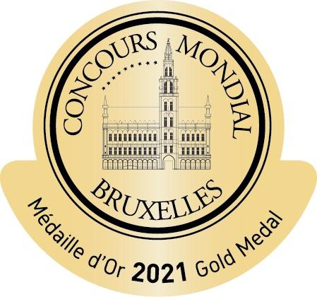 Medalla Oro Bruxelas 2021